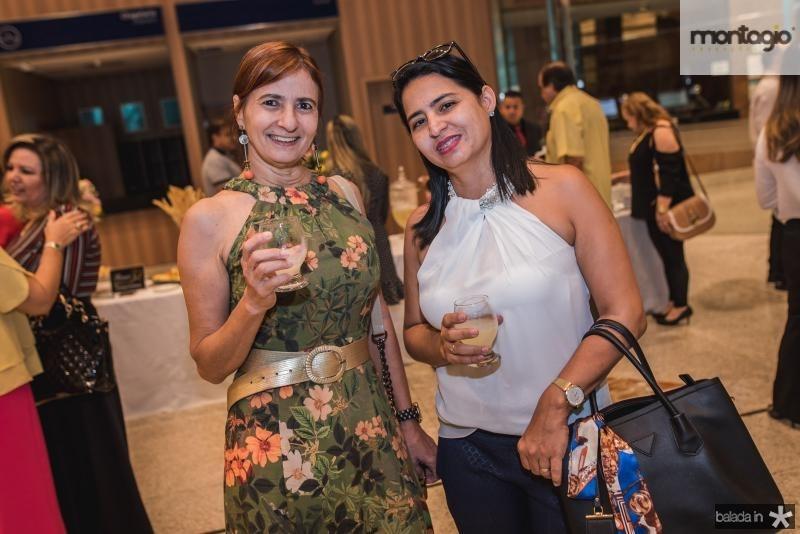 Raquel Caje e Simone Farias