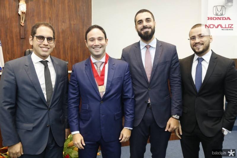 Bruno Araripe, Thiago Asfor, Andre Xerez e Renan Saldanha