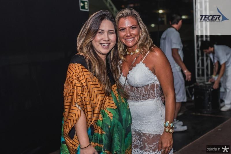 Carol Yamazaki e Vanessa Queiros