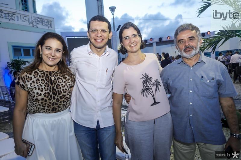 Patricia Macedo, Renato Lima, Manoela Nogueira e Azevedo Vieira