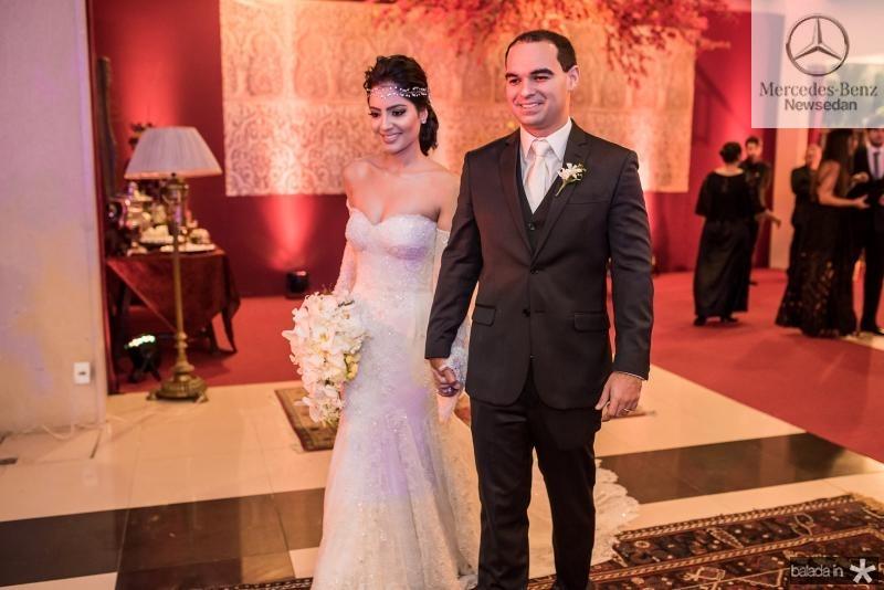 Carolina Ary e Caio Cesar Braga