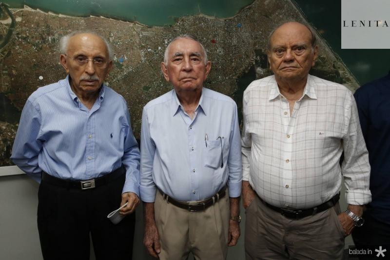 Souto Paulino, Walter Belchior e Claudio Carneiro