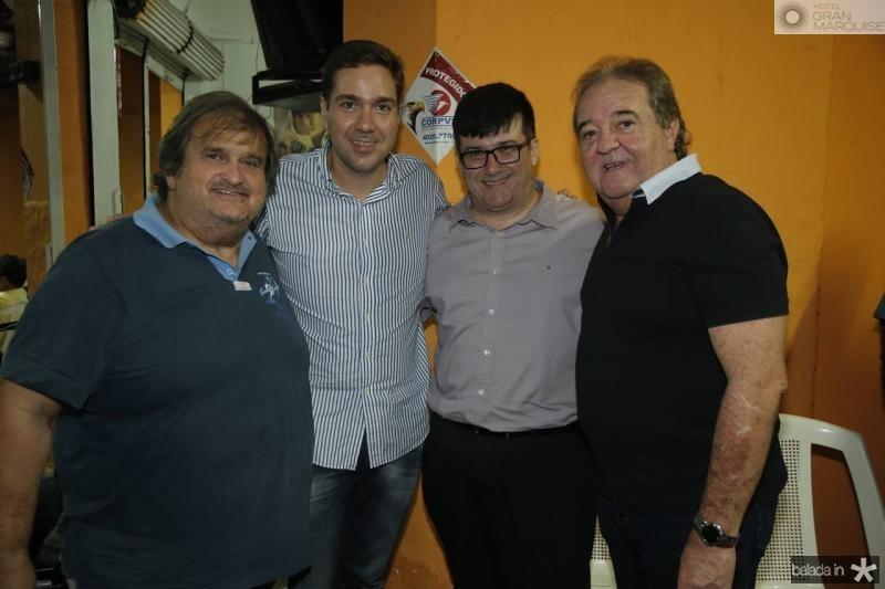 Vaval, Eduardo Bismarck, Ronaldo Borges e Chiquinho Aragao