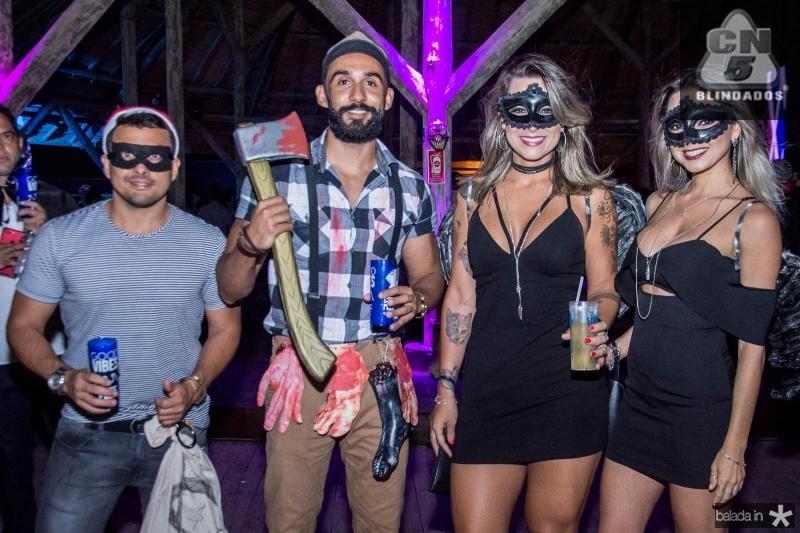 Rodrigues Junior, Luis Fernandes, Aguata Shelman e Sara Gondim