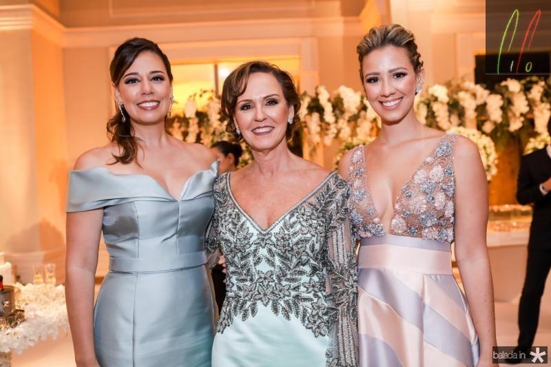 Renata, Carla e Laura Sleiman
