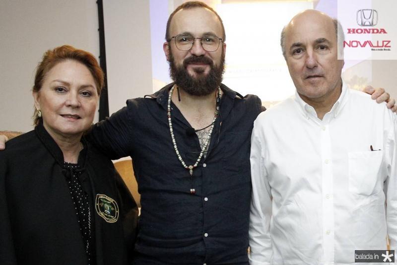 Paula Frota, Andre Liohn e Silvio Frota