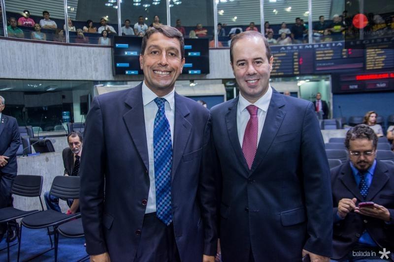 Gony Arruda e Cesar Ribeiro