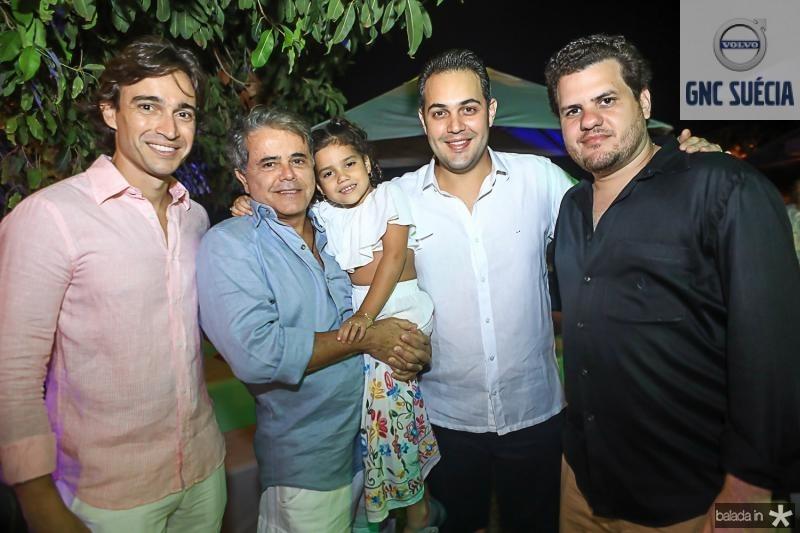 Rodrigo Carvalho, Ivan Bezerra, Ines Fontenele, Bruno Bastos e Humberto Fontenele