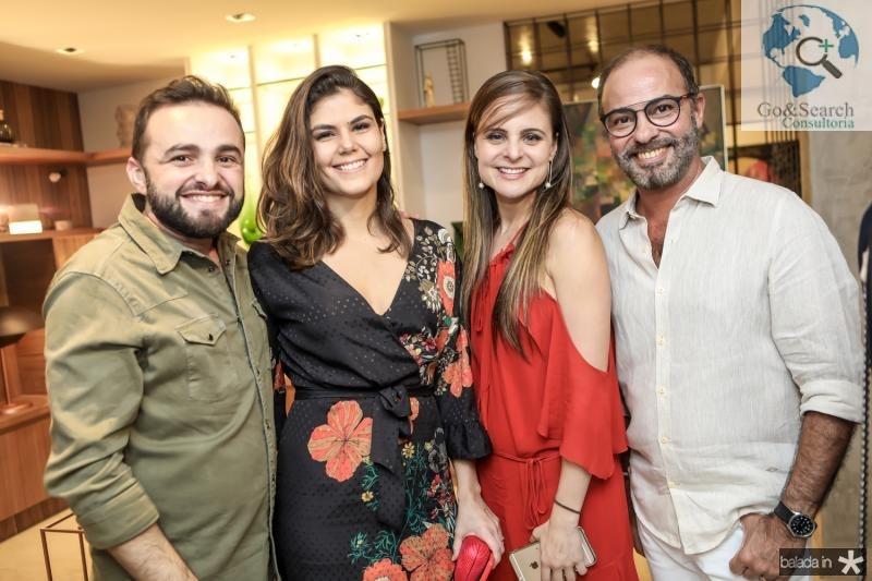 Ramiro Mendes, Beatriz Miranda, Ana Virginia Furlani e Marcos Novais