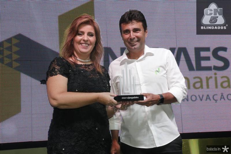 Valeria Manarinno e Marcos Noves Construtora Novaes Engenharia