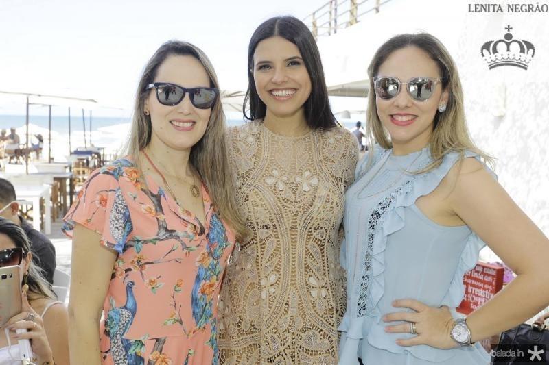 Suzane Benevides, Juliana Melo e Giana Albuquerque