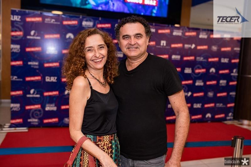 Iziana Mascaranhas e Roberto Diogenes