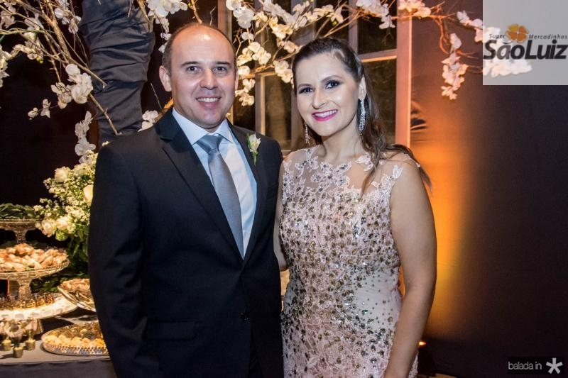 George Cavalcante e Ana Flavia Camelo