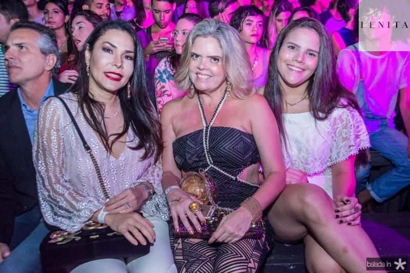 Georgia Machado, Valeska Rolim e Joana Rolim