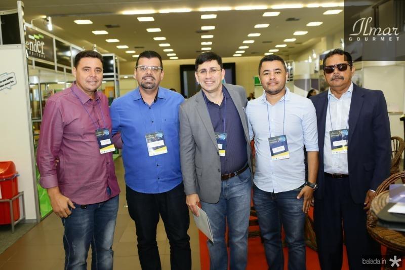 Alexandre Lopes, Gledson Costa,Armando Rodrigues, Ronaldo Martins e Paulo Cavalcante