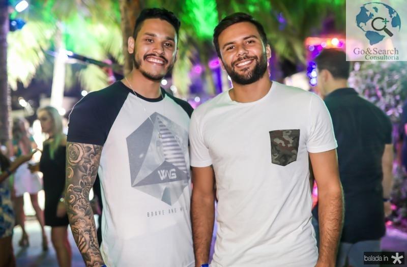 Lucas Lemos e Guilherme de Paula