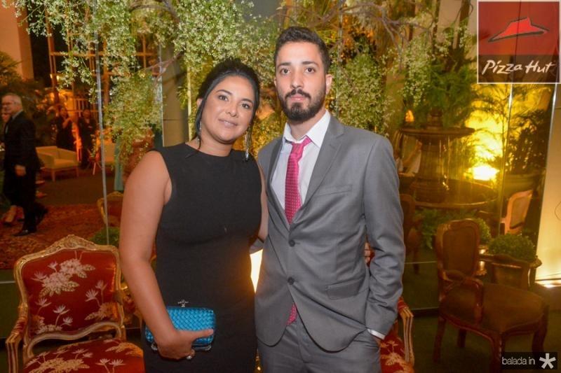 Garciana Menezes e Caleu Aguiar