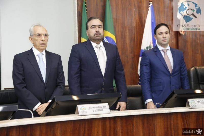 Paulo Ponte, Helio Parente e Thiago Asfor