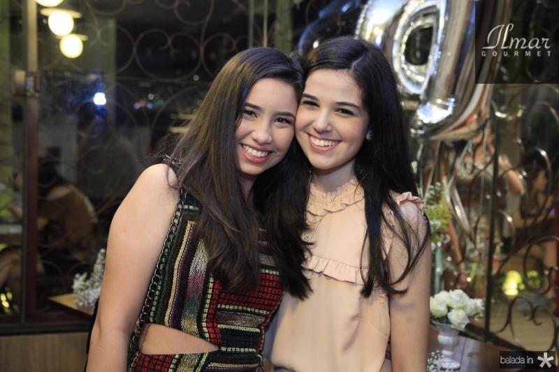 Natalia Marinho e Beatrice Vasconcelos
