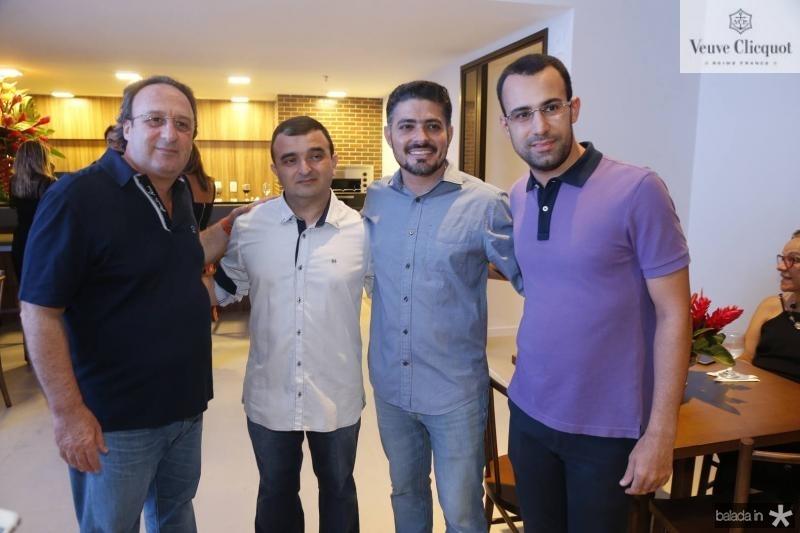 Felipo Canada, Francisco Junior, Bruno Noronha e Diego Canada