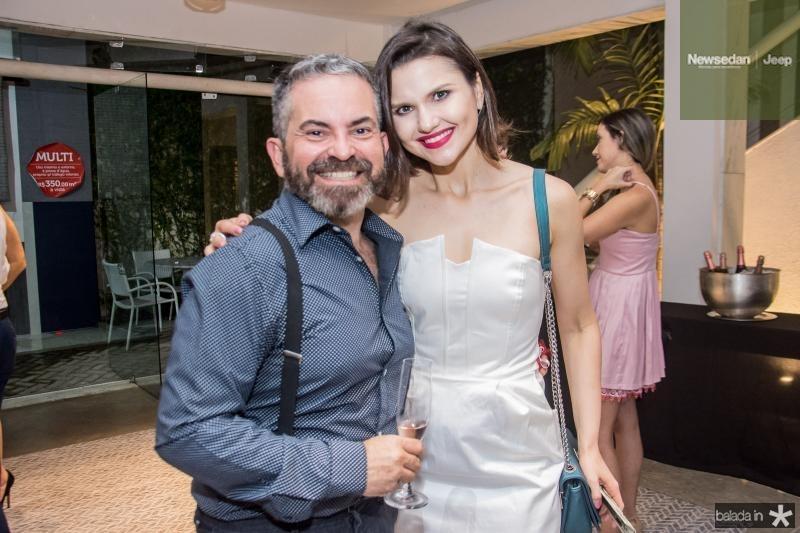 Julio Militao e Marisa Prudente