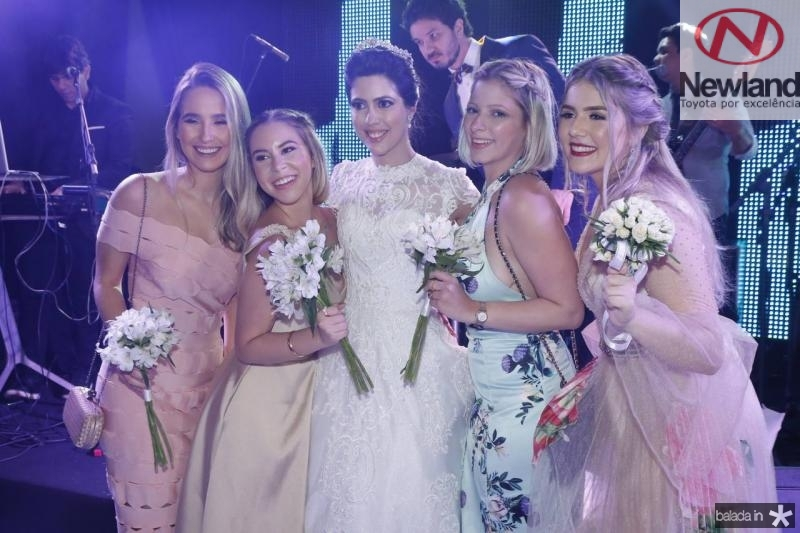 Beatriz Barros, Maria Laura, Lorena Aragao, Kerla Aguiar e Paula Linhares