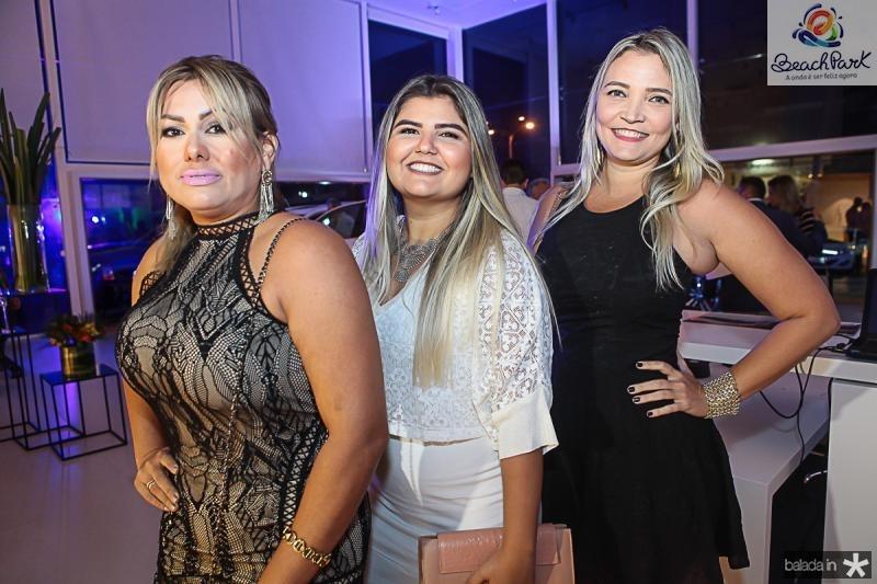 Karina Macedo, Jessica Alencar e Regina Cely
