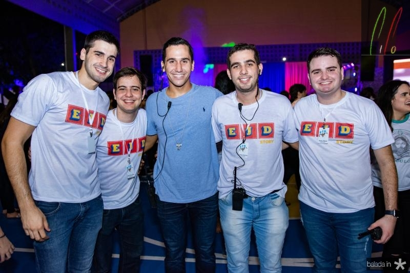 Joao Vitor, Joao Vitor, Gildazio Leal, Carlos Americo e Pedro Edson