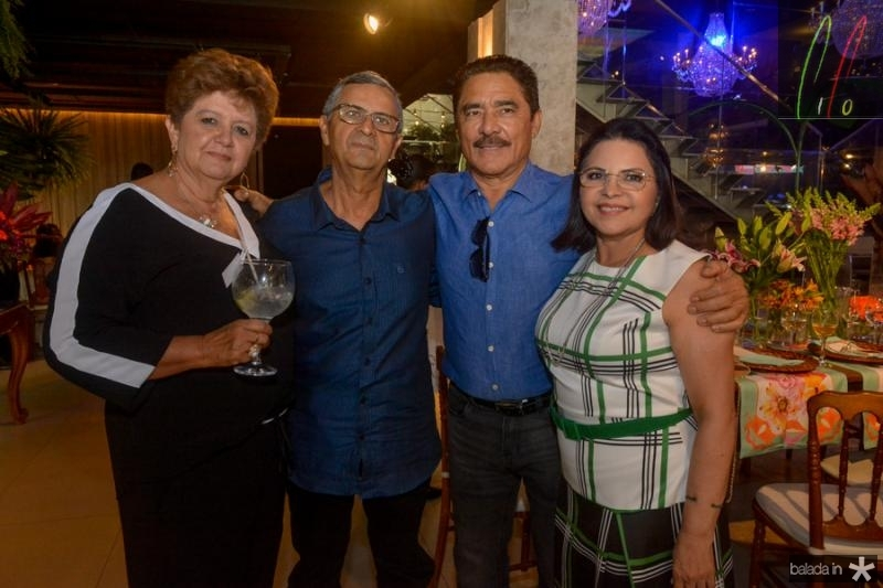 Berenice Paixao, Valdo Rocha e Francisco e Socorro Martins