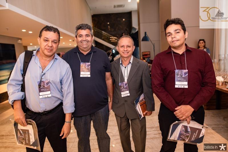 Francisco Cesar, Reidson de Sousa, Antonio Fernandes e Marcelo Alves