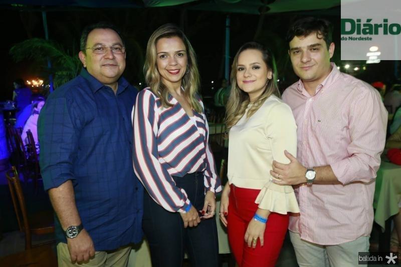 Moacir e Andrea Maia, Anneline Magalhaes e Matheus Borges