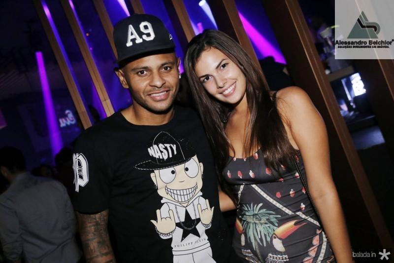 Ari da Silva e Nayandra Matos