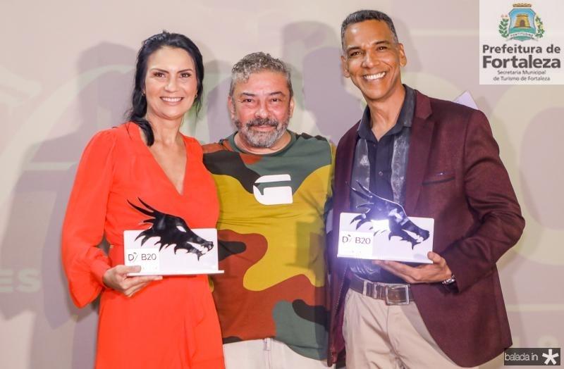 Sandra Look, Claudio Silveira e Gilson Tenorio