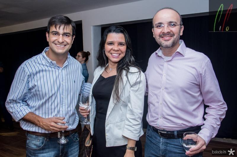 Samuel Belfor, Itala Odorato e Rodrigo Lins
