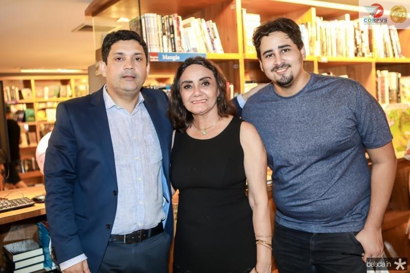 Bruno Queiroz, Escolastica Oliveira e Lucas Aguiar