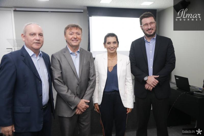 Savio Carvalho, Mauricio Filizola, Marcia Travessoni e Rodrigo Leite