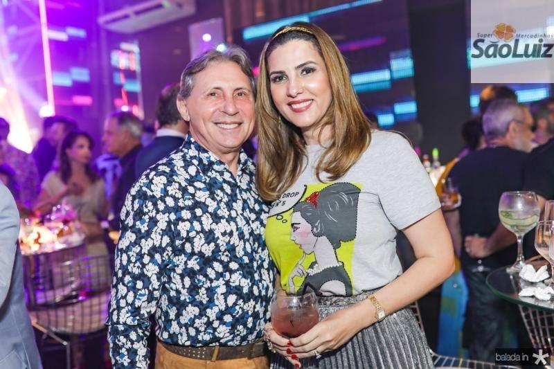 Vilmar Ferreira e Luiza Caminha
