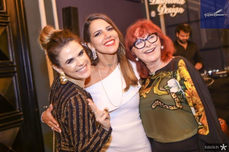 Niedja Bezerra, Ana Carolina Fontenele e Gleids Sido