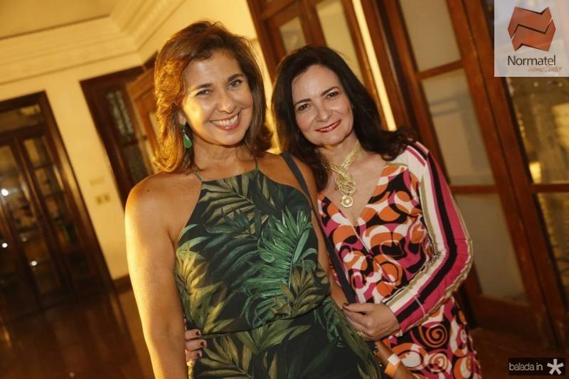 Jacqueline de Deus e Ieda Cavalcante