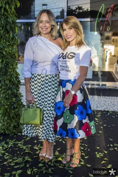 Andrea Fialho  e Maira Silva