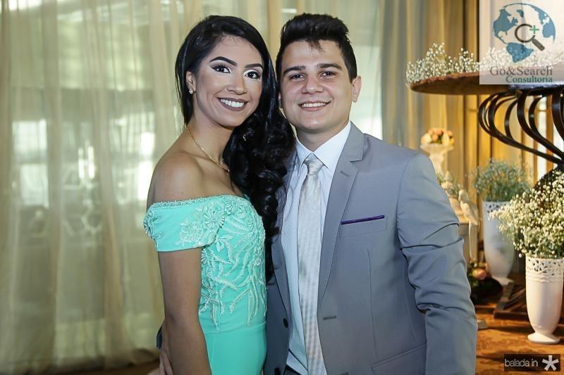 Joyce Castro e Davi Lima