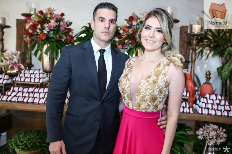 Adriano Dias Branco e Talita Vasconcelos