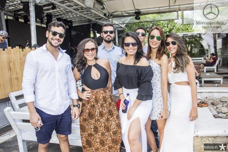 Emanuel Lopes, Bruna Torres, Lucas Caldas, Marli Saboia, Italo Morssi, Larissa Silva e Ticiane Romero