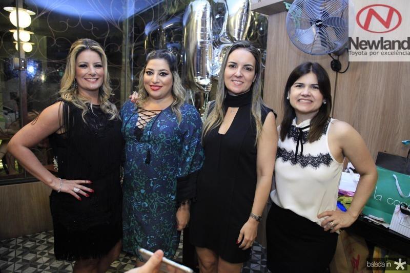 Tatiana Luna, Manu Romcy, Raquel Vasconcelos e Ticiana Brigido