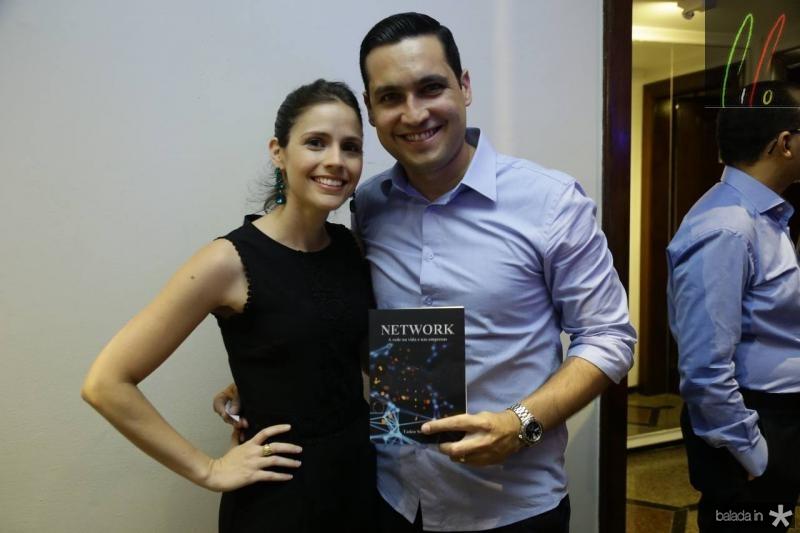 Iris Leite e Luiz Sobreira