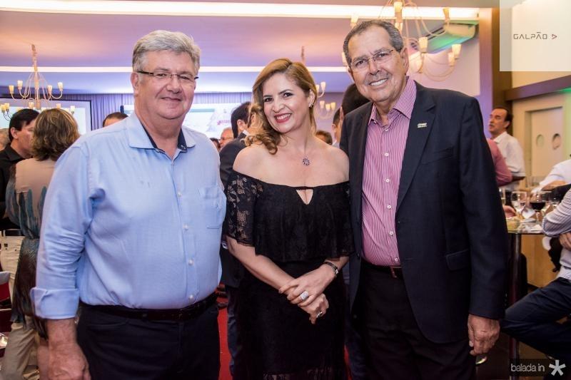 Carlos Maia, Enid Camara e Ricardo Parente
