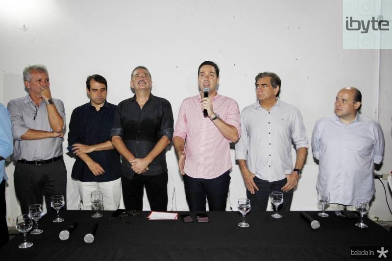 Andre Figueiredo, Salmito Filho, Bismarck Maia, Eduardo Bismarck, Zezinho Albuquerque e Roberto Claudio