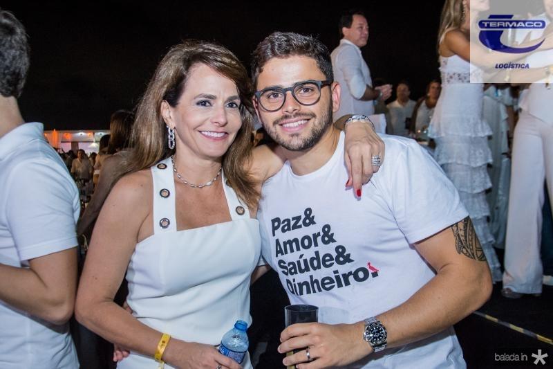 Ana Clara Ferreira Gomes e Ivan Bezerra
