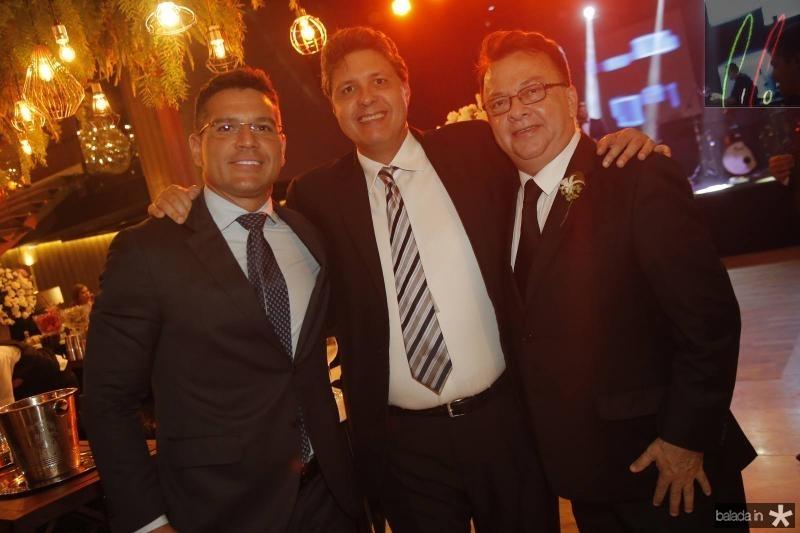 Igor Soares, Marcos Oliveira e Zeca Militao
