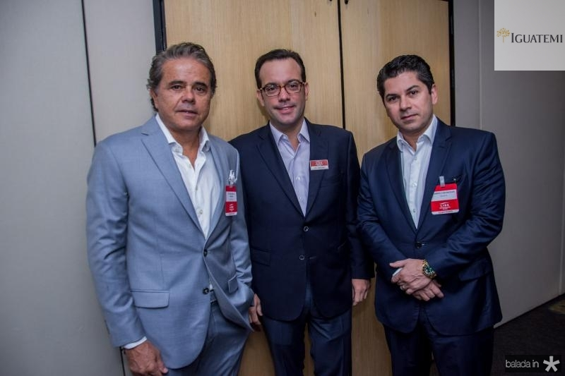 Ivan Bezerra, Ivo Machado e Pompeu Vasconcelos